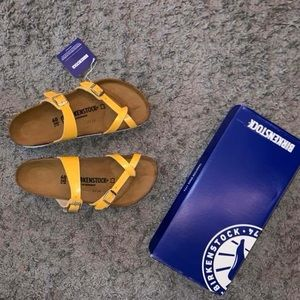 Amber Yellow Birkenstock's (Limited Edition)